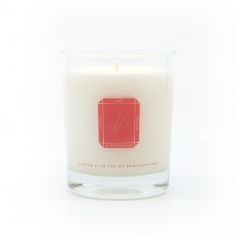 scented candle grapefruit made in France