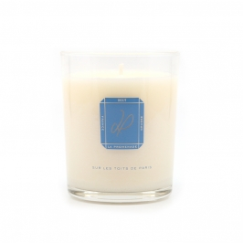 scented candle amber made in France
