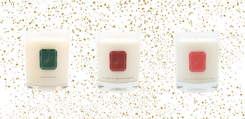 3 senteurs de bougies parfumées pour Noël