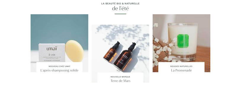 Les produits La Promenade sur le site Nuoobox