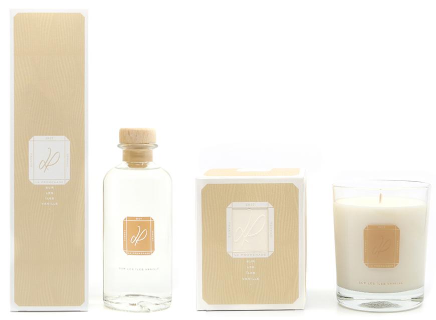 bougie parfumée Sur les iles Vanilles