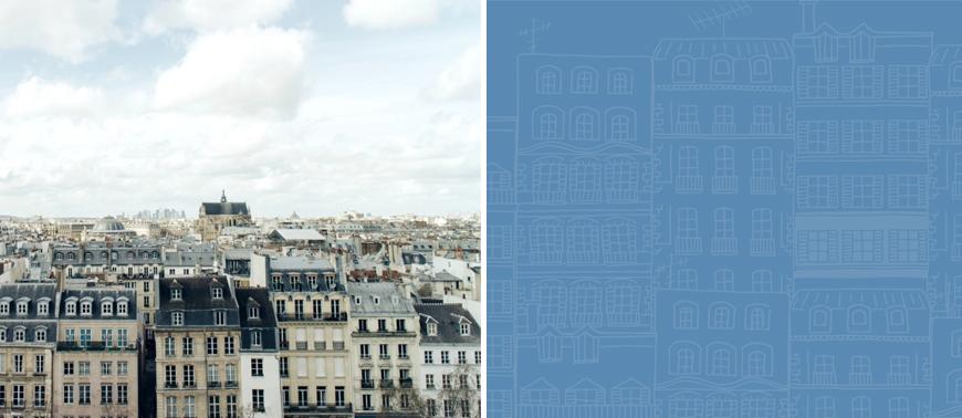 Toits-Paris-couleur-bleue