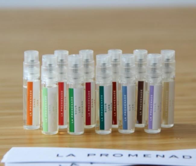 Testeur de parfums d'intérieur : échantillons de senteurs pour choisir de chez vous | La Promenade Parfum d'interieur