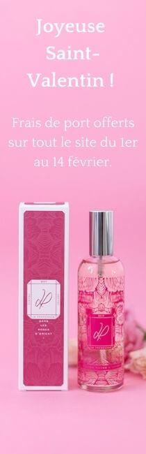 Pour la Saint Valentin cadeau parfum intérieur La Promenade
