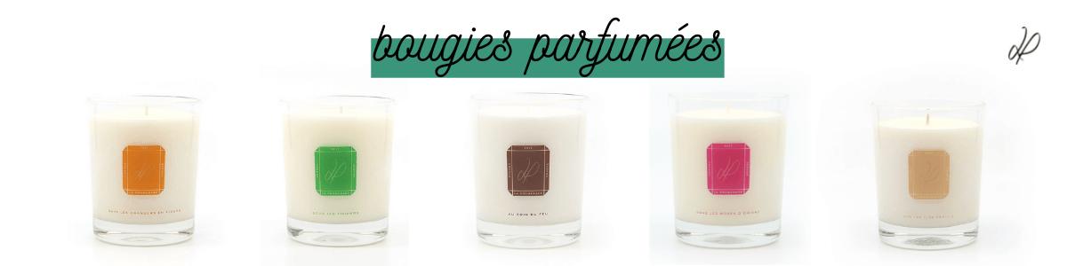 Bougies parfumées La Promenade