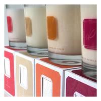 Nos bougies ✨  N'hésitez pas à nous partager vos promenades olfactives 💐